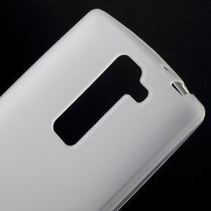 Matný gelový kryt na LG G4c H525n - bilý - 3