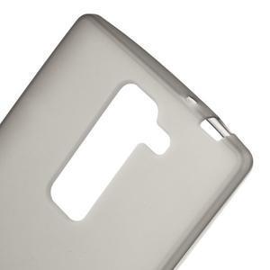 Matný gelový kryt na LG G4c H525n - šedý - 3
