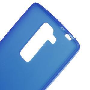 Matný gelový kryt na LG G4c H525n - modrý - 3