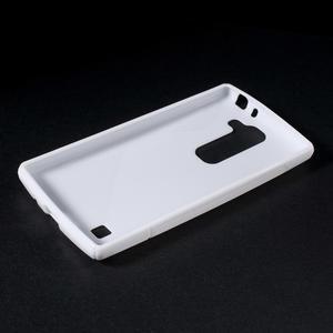 Bílý gelový obal S-line na LG G4c H525n - 3