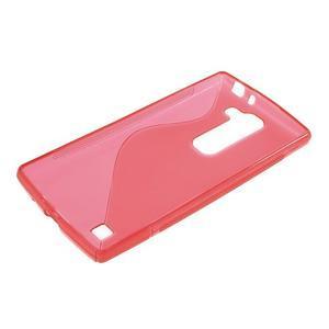 Červený gelový obal S-line na LG G4c H525n - 3