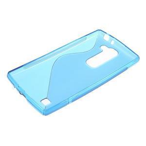 Modrý gelový obal S-line na LG G4c H525n - 3