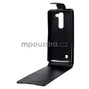 Černé flipové pouzdro na LG G4c H525n - 3