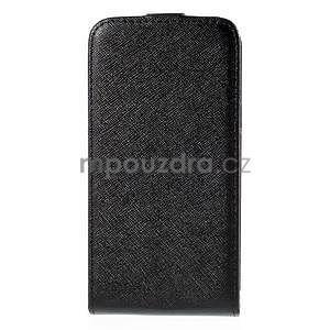 Flipové pouzdro na Samsung Galaxy J5 - černé - 3