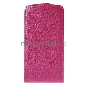 Flipové pouzdro na Samsung Galaxy J5 - rose - 3