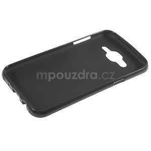 Matný gelový obal Samsung Galaxy J5 - černý - 3