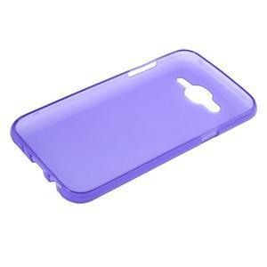 Matný gelový obal Samsung Galaxy J5 - fialový - 3