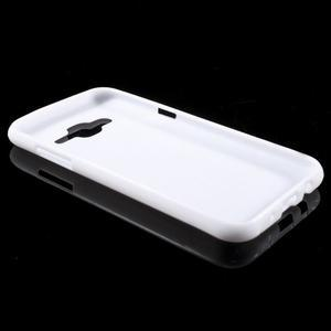 Biely gélový kryt pre Samsung Galaxy J5 - 3