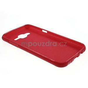 Červený gélový kryt pre Samsung Galaxy J5 - 3