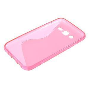S-line gelový kryt na Samsung Galaxy J5 - rose - 3
