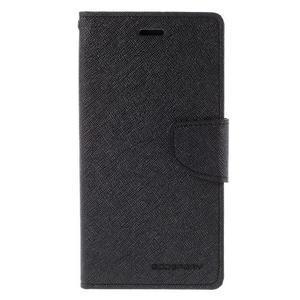 Diary stylové pouzdro na Asus Zenfone 2 Laser - černé - 3
