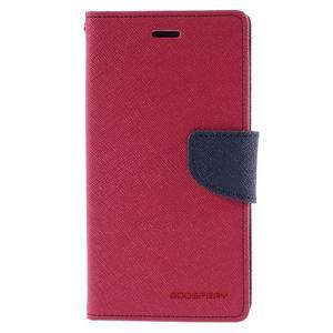 Diary stylové pouzdro na Asus Zenfone 2 Laser - rose - 3