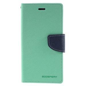 Diary stylové pouzdro na Asus Zenfone 2 Laser - azurové - 3