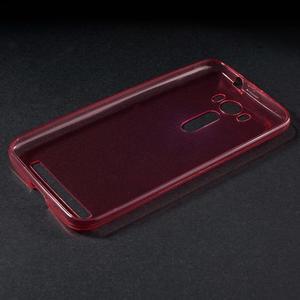 Ultratenký slim obal na Asus Zenfone 2 Laser - červený - 3
