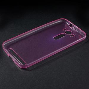 Ultratenký slim obal na Asus Zenfone 2 Laser - rose - 3