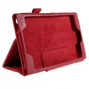 Koženkové pouzdro na tablet Asus ZenPad 7.0 Z370CG - červené - 3