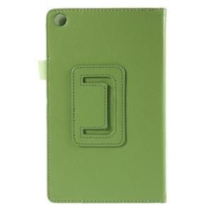 Koženkové pouzdro na tablet Asus ZenPad 7.0 Z370CG - zelené - 3