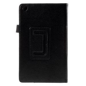 Koženkové pouzdro na tablet Asus ZenPad 7.0 Z370CG - černé - 3