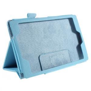 Koženkové pouzdro na tablet Asus ZenPad 7.0 Z370CG - světle modré - 3