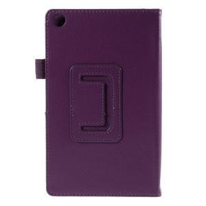 Koženkové pouzdro na tablet Asus ZenPad 7.0 Z370CG - fialové - 3