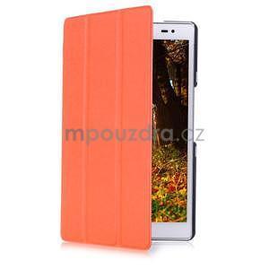 Třípolohové pouzdro na tablet Asus ZenPad 8.0 Z380C - oranžové - 3