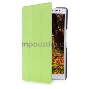 Třípolohové pouzdro na tablet Asus ZenPad 8.0 Z380C - zelené - 3