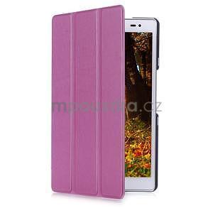 Třípolohové pouzdro na tablet Asus ZenPad 8.0 Z380C - fialové - 3