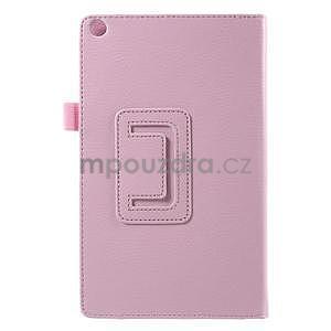 Safety polohovatelné pouzdro na tablet Asus ZenPad 8.0 Z380C - růžové - 3