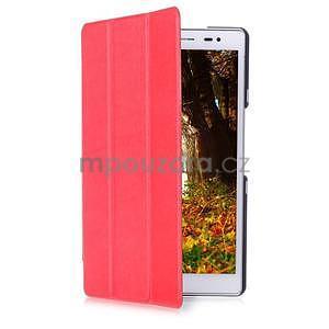Třípolohové pouzdro na tablet Asus ZenPad 8.0 Z380C - červené - 3