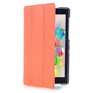 Trifold pouzdro na tablet Asus ZenPad C 7.0 Z170MG - oranžové - 3