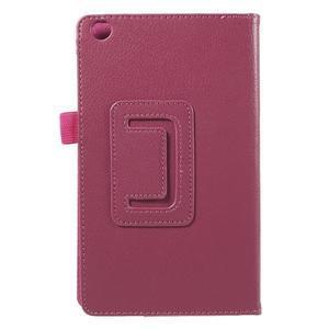 Safety koženkové pouzdro na Asus ZenPad C 7.0 Z170MG - rose - 3