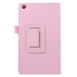 Safety koženkové pouzdro na Asus ZenPad C 7.0 Z170MG - růžové - 3