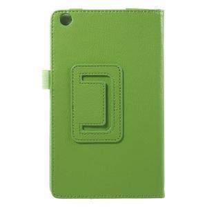 Safety koženkové pouzdro na Asus ZenPad C 7.0 Z170MG - zelené - 3