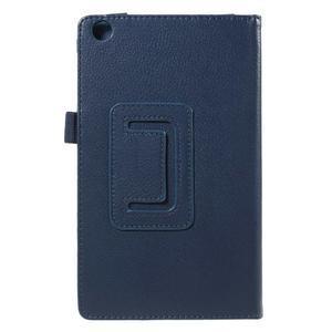 Safety koženkové pouzdro na Asus ZenPad C 7.0 Z170MG - tmavěmodré - 3