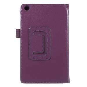 Safety koženkové pouzdro na Asus ZenPad C 7.0 Z170MG - fialové - 3