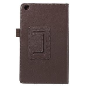 Safety koženkové pouzdro na Asus ZenPad C 7.0 Z170MG - hnědé - 3