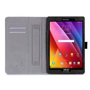 Polohovatelné koženkové pouzdro na tablet Asus ZenPad S 8.0 - černé - 3
