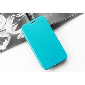 Koženkové pouzdro na mobil Honor 7 - modré - 3
