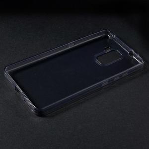 Transparentní gelový obal na telefon Honor 7 - šedý - 3