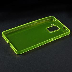 Transparentní gelový obal na telefon Honor 7 - žlutý - 3