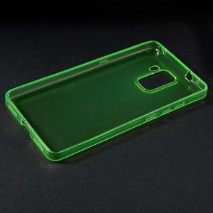 Transparentní gelový obal na telefon Honor 7 - zelený - 3