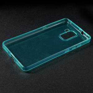 Transparentní gelový obal na telefon Honor 7 - azurový - 3