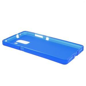 Modré gelové pouzdro na mobil Honor 7 - 3