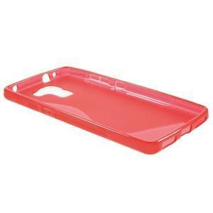 Červený gelový kryt S-line na Huawei Honor 7 - 3