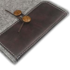 Envelope univerzální pouzdro na tablet 26.7 x 20 cm - coffee - 3