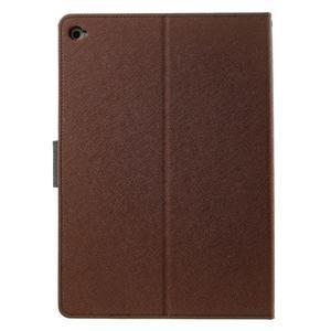 Excelent Diary pouzdro pro iPad Air 2 - hnědé - 3
