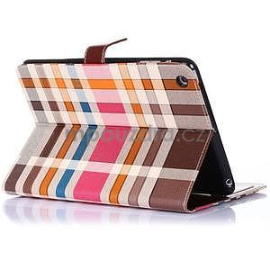 Fashion style pouzdro na iPad Air 2 - hnědé - 3