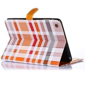 Fashion style pouzdro na iPad Air 2 - světlehnědé - 3