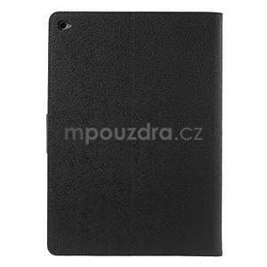 Excelent Diary pouzdro pro iPad Air 2 - černé - 3