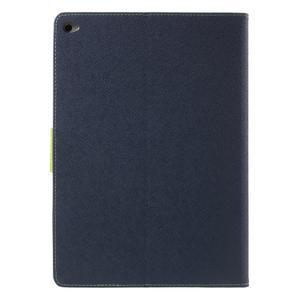 Excelent Diary pouzdro pro iPad Air 2 - tmavěmodré - 3